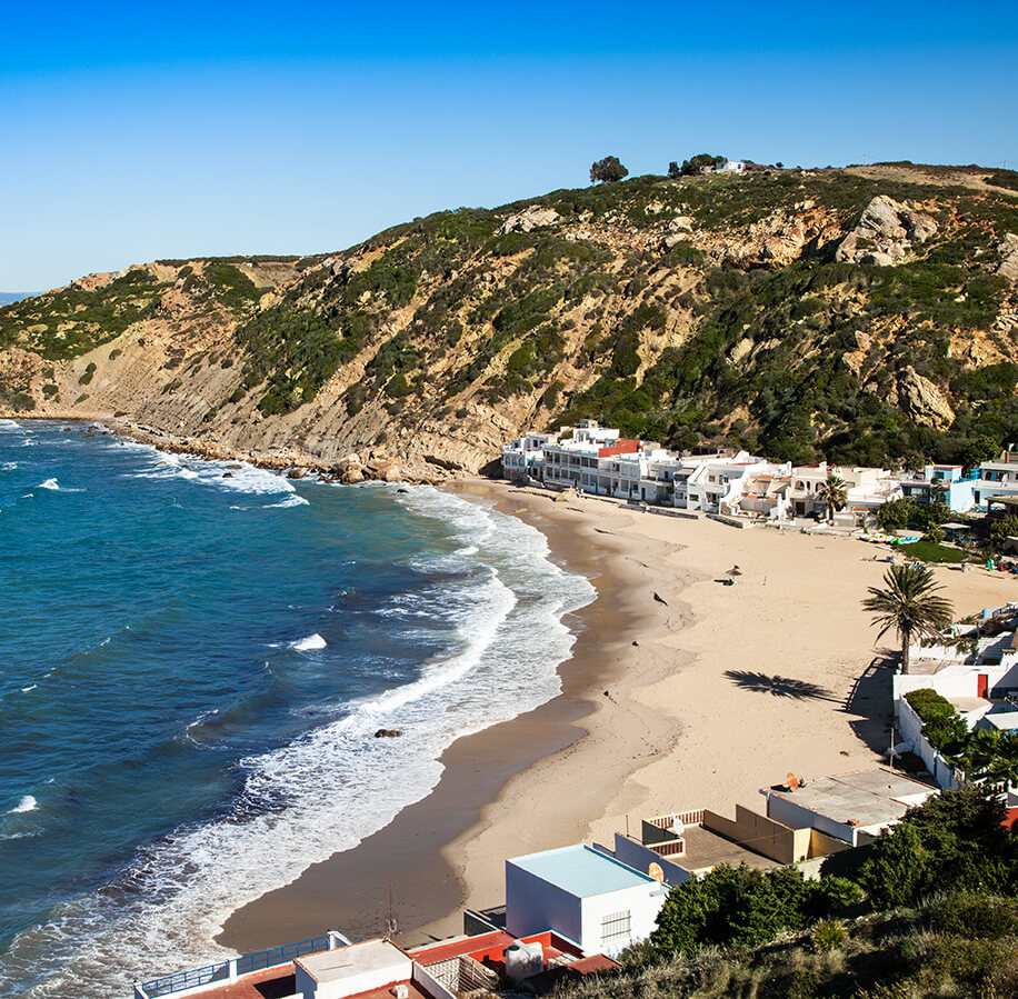 rent a car in morocco to visit the coast of tangier