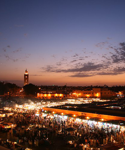Rent a car in Morocco to make a road trip in the region of Marrakech
